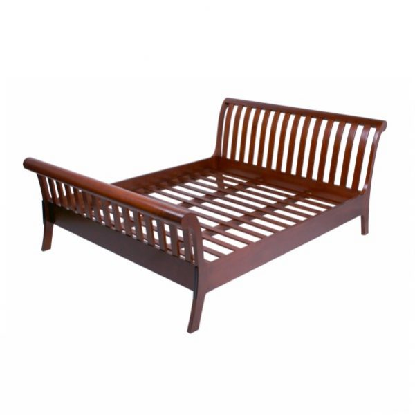 SLEIGHT BED AC8087 - FINE FURNITURE